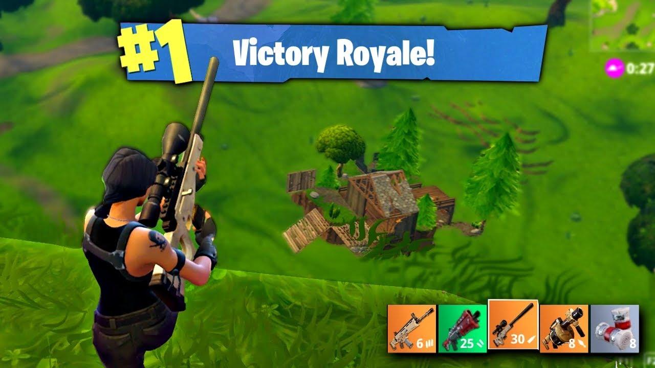 Insane Snipes Fortnite Battle Royale Wins Highlights