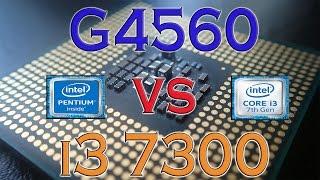 g4560 vs i3 7300 benchmarks gaming tests review and comparison kaby lake vs kaby lake