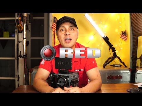 RED Digital Cinema. Scarlet W! Very Unique Unboxing. 5k. How to setup?  Startup time?  Shot on Red.