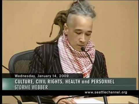 2009 Words' Worth Poetry Reading - Curated by Donna Miscolta - Seattle City Council