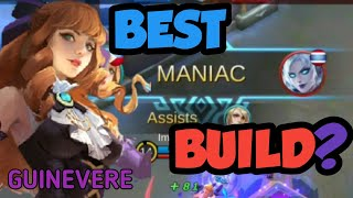 What is the BEST BUILD for Ms. Violet?   Mobile Legends