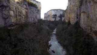 Foz de Arbayún, Navarra . DRONA