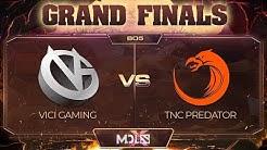 Vici Gaming vs TNC Predator Game 1 - GRAND FINALS: MDL Chengdu Major