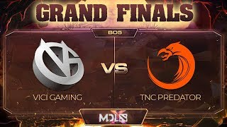 Vici Gaming vs TNC Predator Game 1 - GRAND FINALS: MDL Chengdu Major