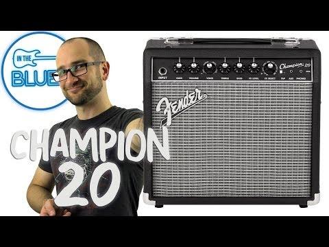 Fender Champion 20 Guitar Amplifier Demo
