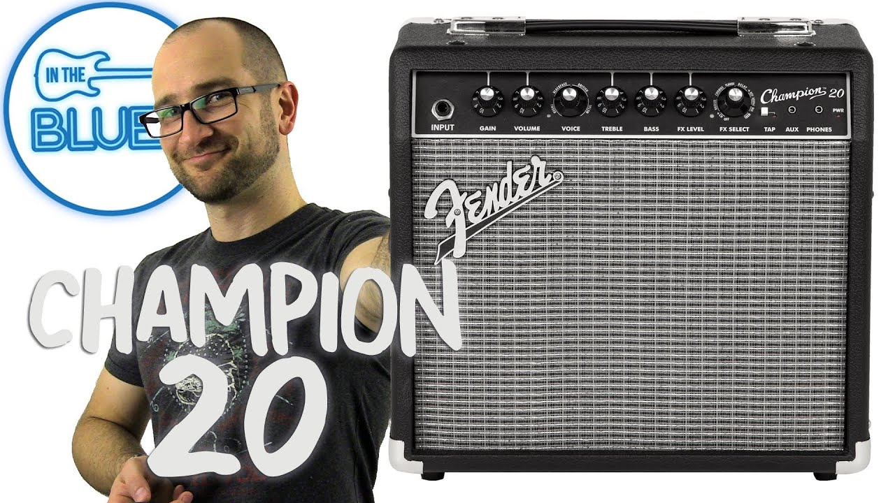 Fender Champion 20 Guitar Amplifier Demo Youtube Is It Ok To Put A Solid State Pedal Through Valve Amp Geekchat