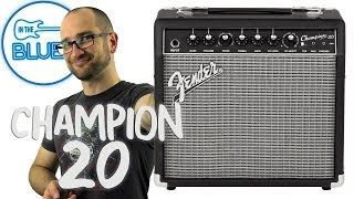 Fender Champion 20 Guitar Amplifier Demo