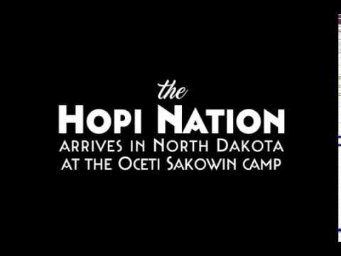 Hopi Nation Arrives At Standing Rock Reservation