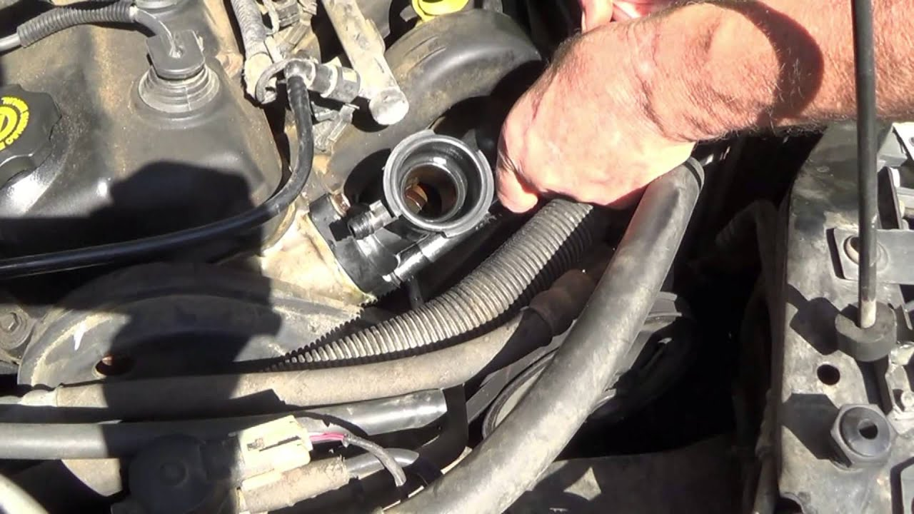 how to replace a thermostat on a 1997 plymouth neon