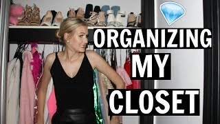 ORGANIZING & DECLUTTERING MY CLOSET