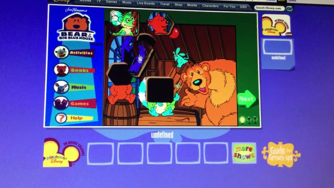 Teegan Playing A Playhouse Disney Game YouTube