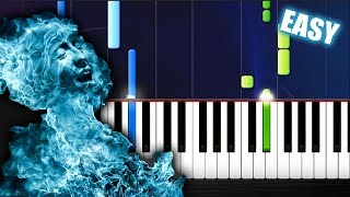 Linkin Park - New Divide - EASY Piano Tutorial by PlutaX
