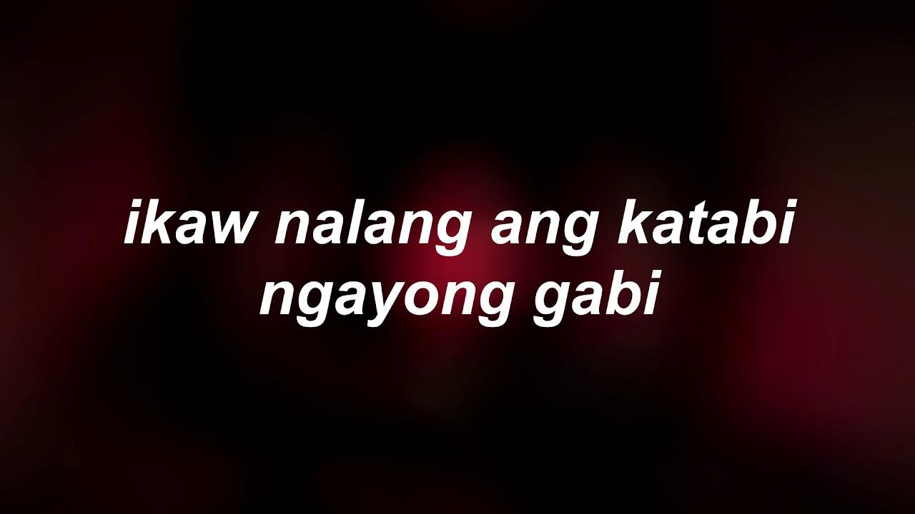 Ngayong gabi lyrics