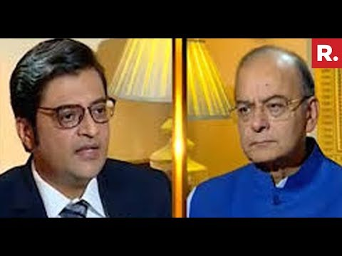 Finance Minister Arun Jaitley Speaks Exclusively To Arnab Goswami On Rafale Issue