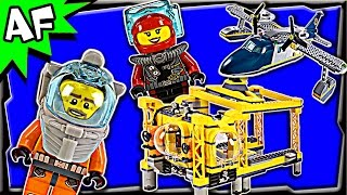 lego city deep sea operation base 60096 stop motion build review