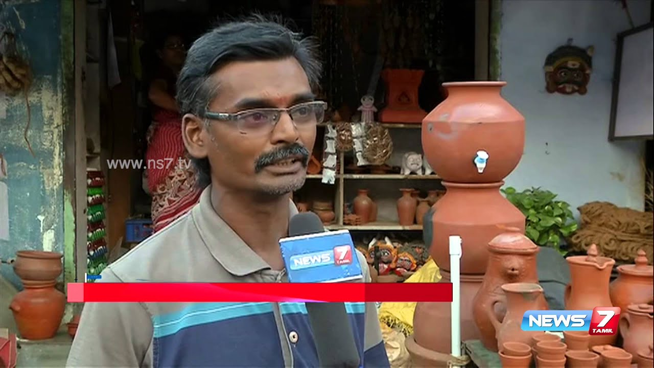 Different types of clay pot and vessels sale in salem news7 tamil youtube - Why you should cook clay pots ...