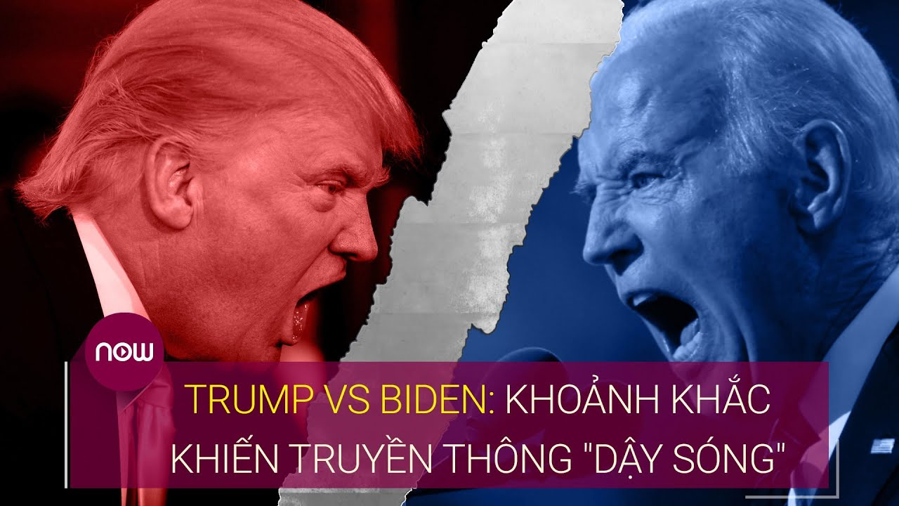 Trump Vs Biden: Những khoảnh khắc khiến truyền thông
