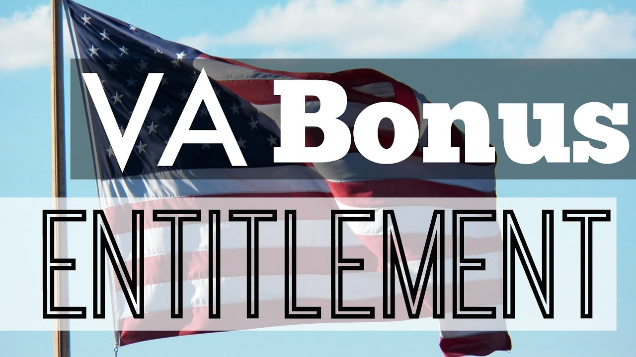 Va Mortgage Bonus Entitlement