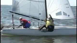 Hobie 20 sailing from Tampa Florida