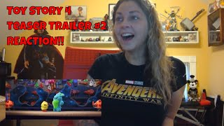 Toy Story 4 Teaser Trailer #2 Reaction Video - REACTION!