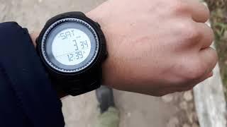 Часы с шагомером SKMEI 1295 Sports Watches Pedometer   Waterproof Watch