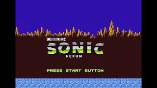 Sonic 1 Rerun [First Public Release] (Genesis) - Longplay