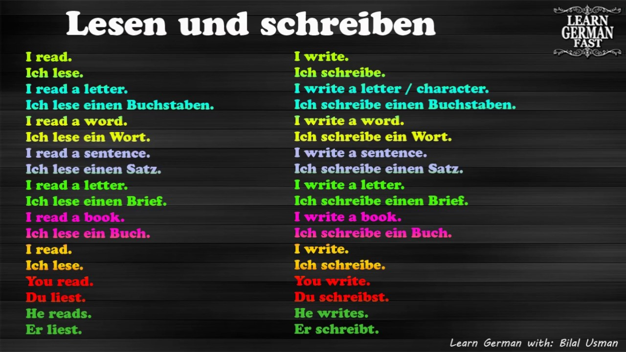 40 MOST COMMON PHRASES IN GERMAN LANGUAGE - …