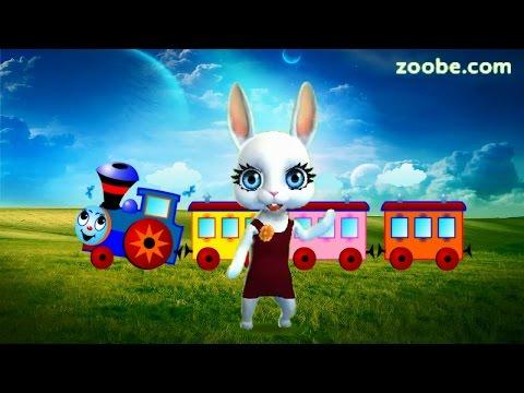 Zoobe Зайка Голубой вагон - Познавательные и прикольные видеоролики