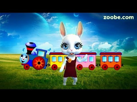 Zoobe Зайка Голубой вагон - Популярные видеоролики!
