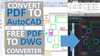 Convert PDF To Autocad - Free PDF To Dwg Converter