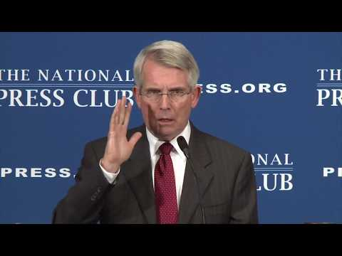 Amtrak CEO Wick Moorman speaks at The National Press Club