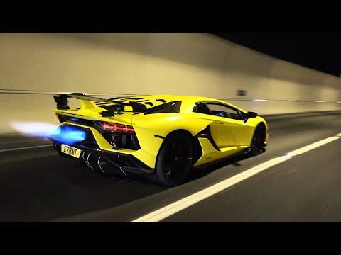 The Lamborghini Aventador SVJ FLAMETHROWER!