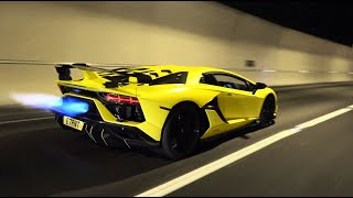 The Lamborghini Aventador SVJ FLAMETHROWER!