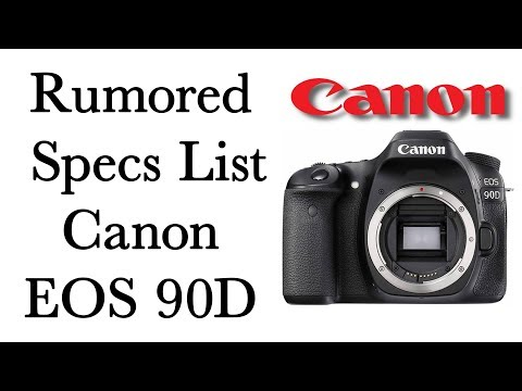 Repeat Rumored Canon EOS 90D Specs List by AB STUDIO