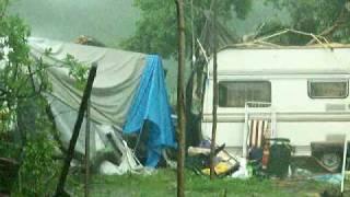 nawałnica jak huragan Koszalin 17.07.10