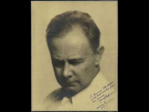 "Josef Hofmann plays Beethoven's ""Waldstein"" Sonata (complete)"
