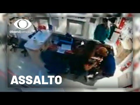 Assalto a shopping: ladrões de celulares presos em São Paulo