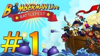 Let's Play Bomberman Live Battlefest Part 1