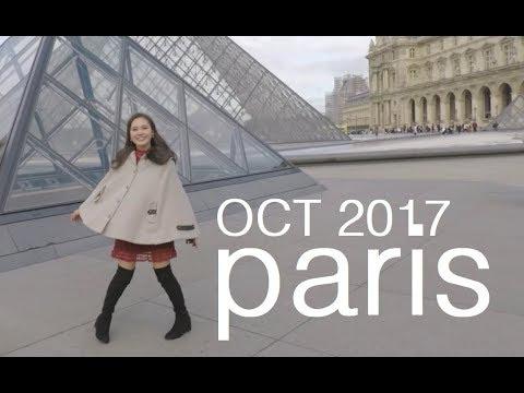 Travel Europe Part 1- Paris, France October 2017