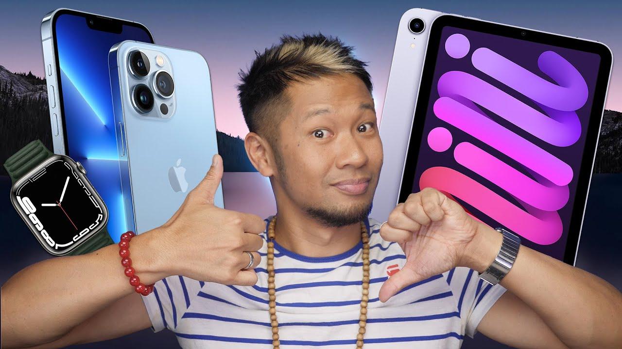 Reactions to iPhone 13/13 Pro, Apple Watch Series 7 & New iPad mini!