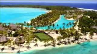 Остров Бора Бора(http://www.facebook.com/TezTourUA Бора Бора -- это курорт, стилизованный под полинезийскую деревушку. На многих моту постро..., 2010-08-11T08:24:49.000Z)