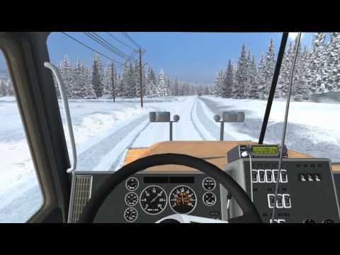 18 WoS - Extreme Trucker #1 Gameplay (Canada) Mission 1-3 HD