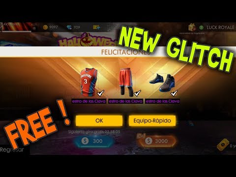 WITH THIS GLITCH YOUCAN WIN THE BASKETBALL SET *FREE* | FREE FIRE