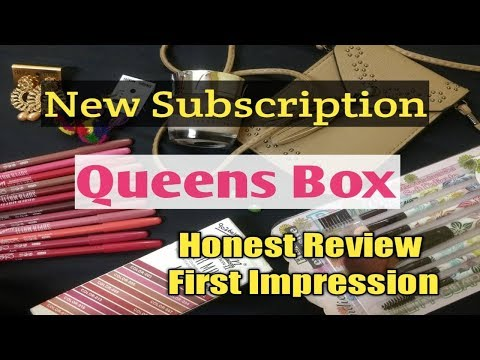 **New The QUEENS Box | Honest Review & First Impression | 10% Discount | Merriness