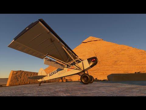 [4K] Landing in ALL New 7 Wonders of the World in Microsoft Flight Simulator 2020