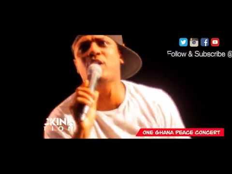 D-Cryme @ One Ghana Peace Concert