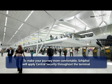 Schiphol Constructs - Departure Halls 2 and 3