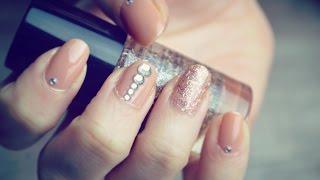Model de unghii rapid si elegant | Goregous Nude Nails