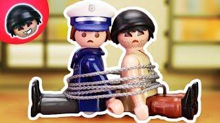 KARLCHEN KNACK - Karlchens und Tonis Flucht - Playmobil Polizei Film #43