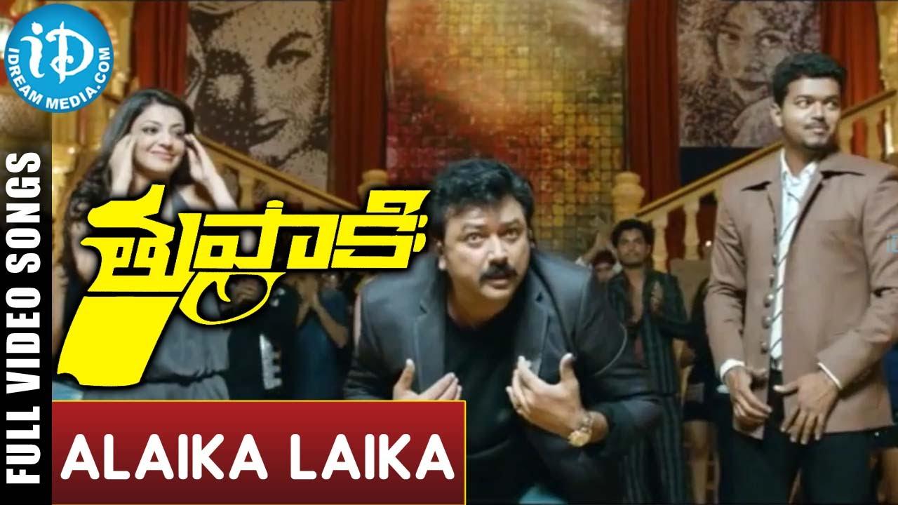 vijay in thuppaki video songs free download